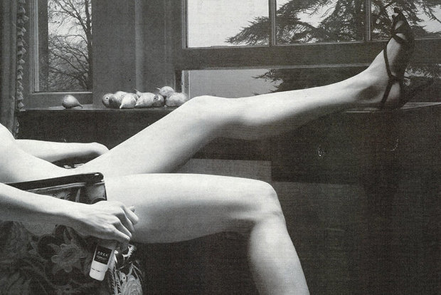 This advert featuring a naked woman has been axed