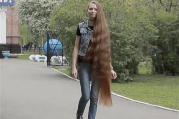 Real Life Rapunzel Daria Gubanova Is Instagram Sensation