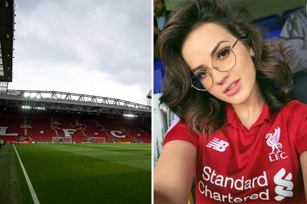 Image result for Fabinho's wife Rebeca Tavares hits back at Liverpool fan after Manchester City defeat