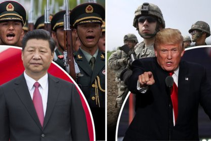 china-us confrontation