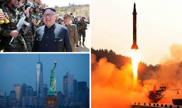 North Korea nuclear missile warning
