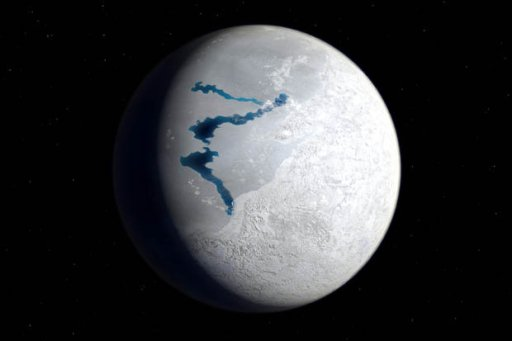 FROZEN: Earth 650 million years ago in an ice age