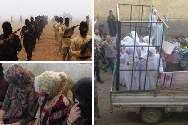 Yazidi-slaves