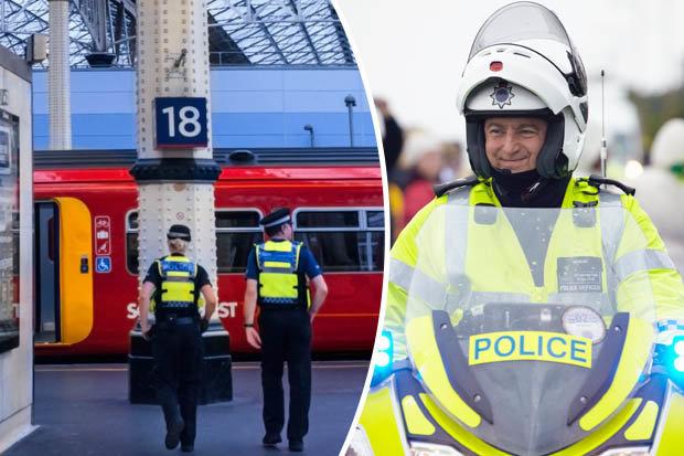 British transport police split