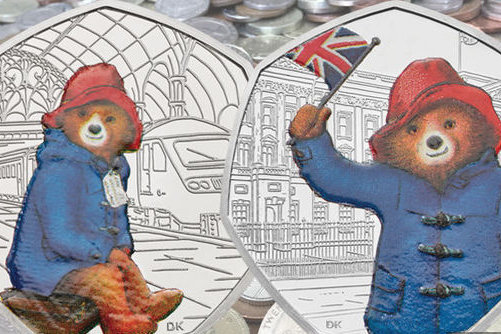 Royal Mint is releasing Paddington Bear 50p coins