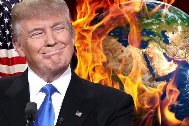 Image result for Trump and Climate Change