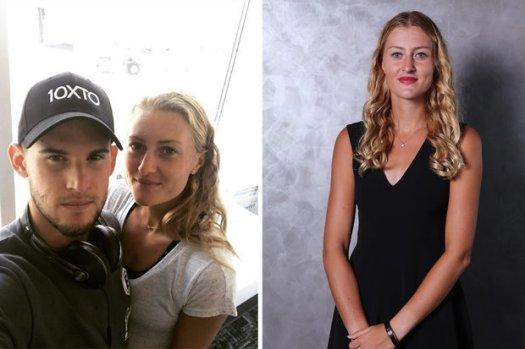Dominic Thiem girlfriend: Cute tennis romance revealed as ...