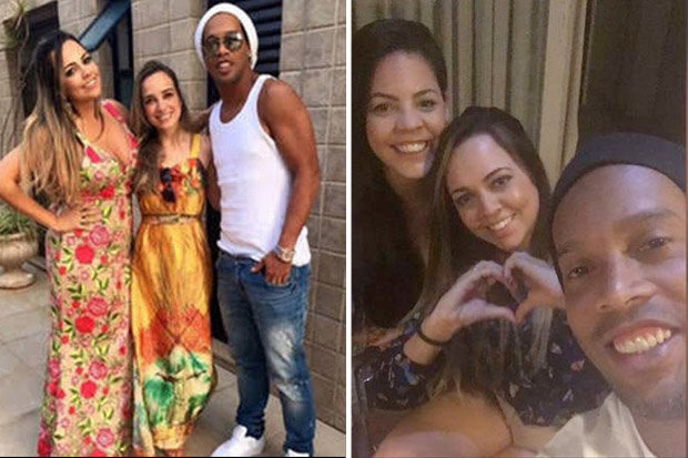 Image result for Ronaldinho to marry two women