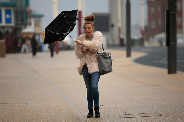 Christmas is set to be windy with strong gales
