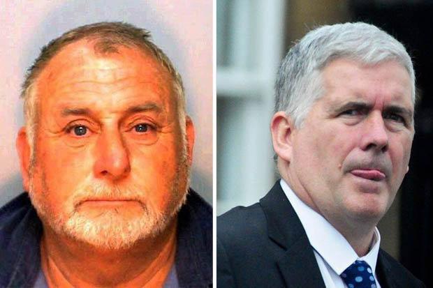 Jailed Christopher Flavin and Hugh Flynn