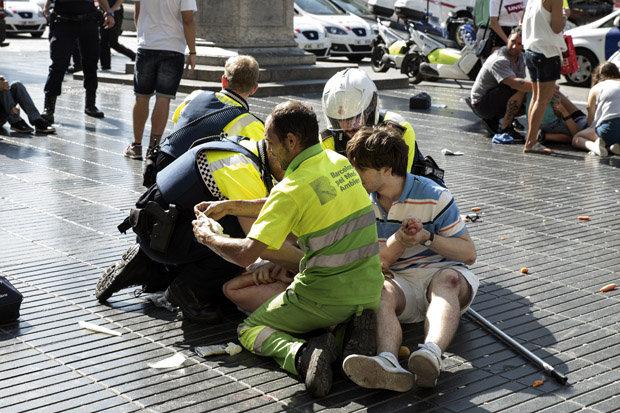Terrorists killed 16 bystanders in Barcelona