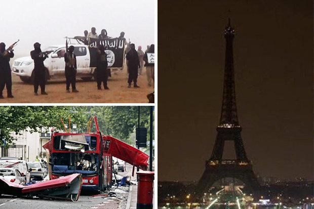 Paris attack and London bus bombings