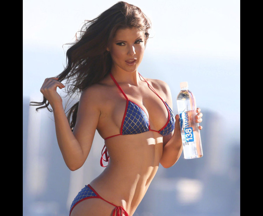 Amanda Cerny poses for a photo in the Hollywood Hills [FAMEFLYNET]