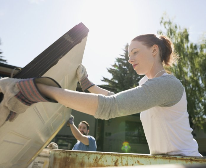 Dumpster diving - People throw away a lot of items that cna be sold on for a profit.