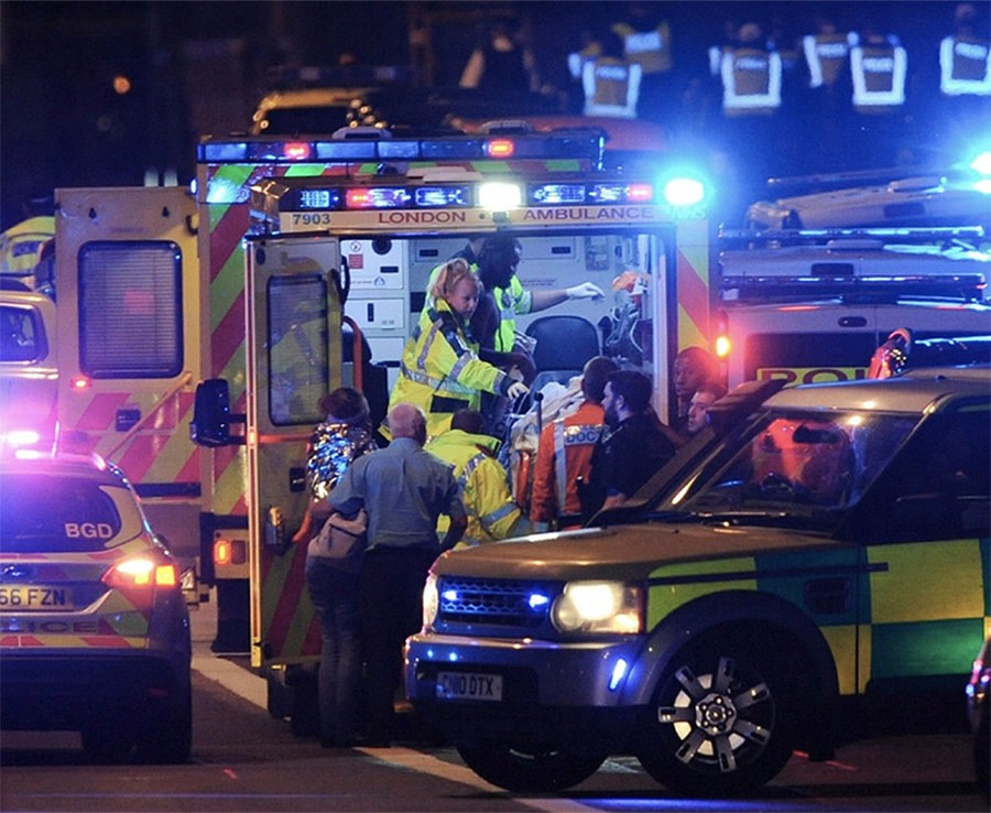 Police have confirmed 7 people have been killed in the double terror attack