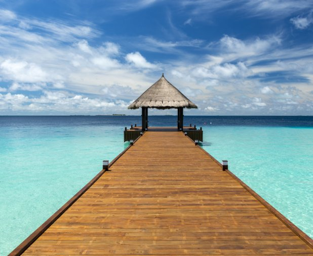 The Maldives - As one of the world's best islands, it's no surprise that the Maldives are a favorite destination for celebrities. You can find this low-lying island nation in between the Indian and Arabian seas has luxuriously appointed bungalows set