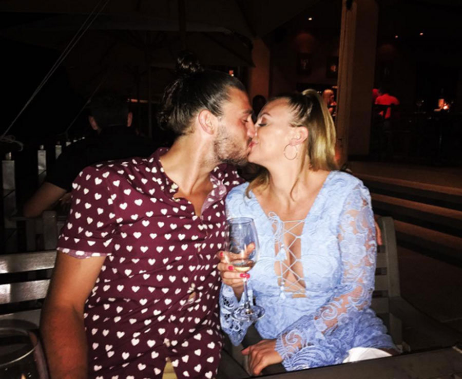 Andy Carroll and WAG Billi Mucklow holiday in Thailand