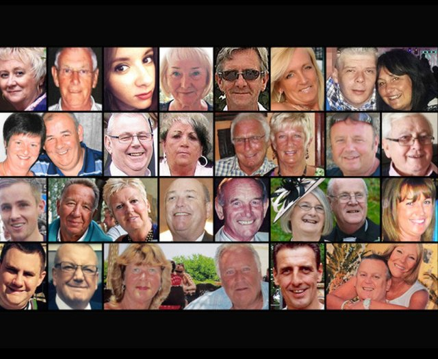 The British victims of the Sousse terror attack