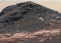 'Ireson Hill' on Mount Sharp, Mars