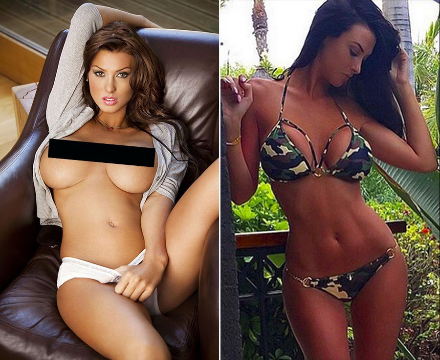 Jermaine Pennant's wife Alice Goodwin
