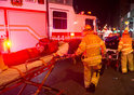 Les pompiers répondent à une explosion présumée à New York