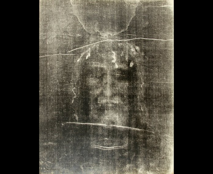 The Shroud Of Turin is supposedly archaeological evidence for Jesus