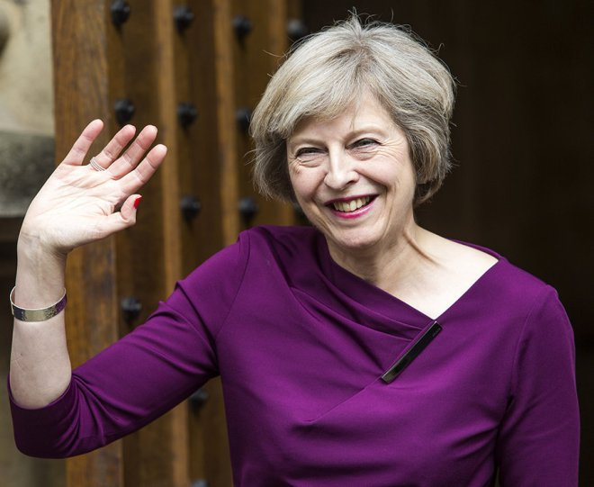 British Prime Minister Theresa May to leave post this year - 1/2