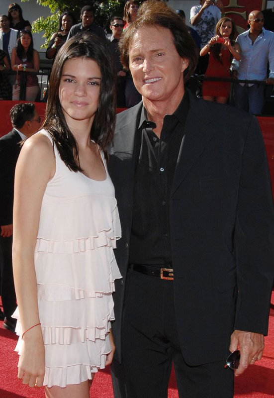 Kendall Jenner and Bruce Jenner