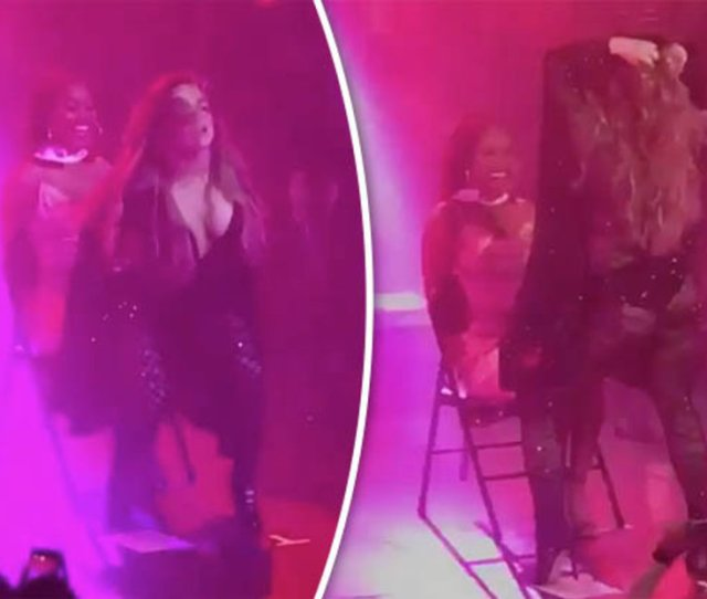 Popstar Jojo Gives Maxim Model X Rated Lesbian Lap Dance While Wearing Thong Daily Star