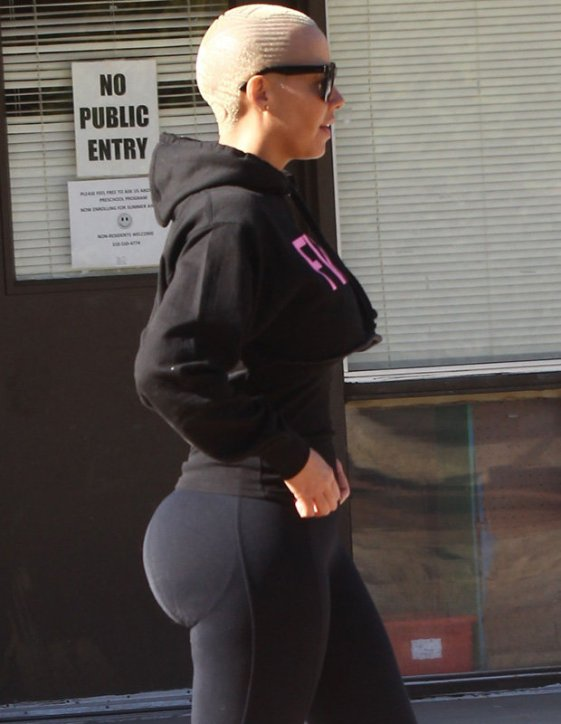 Amber Rose booty pads