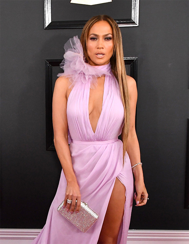Jennifer Lopez Wears Revealing Dress At Grammys Before