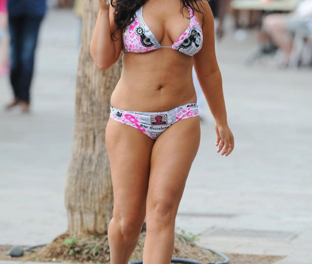 Chanelle Hayes Bikini Curves Weight Gain
