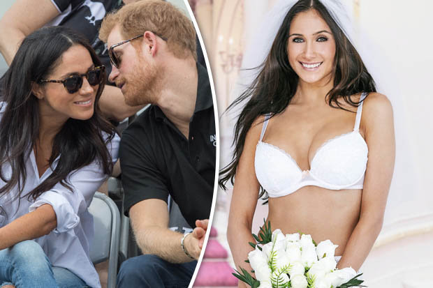 Prince Harry And Meghan Markle A Peak At What Her Wedding