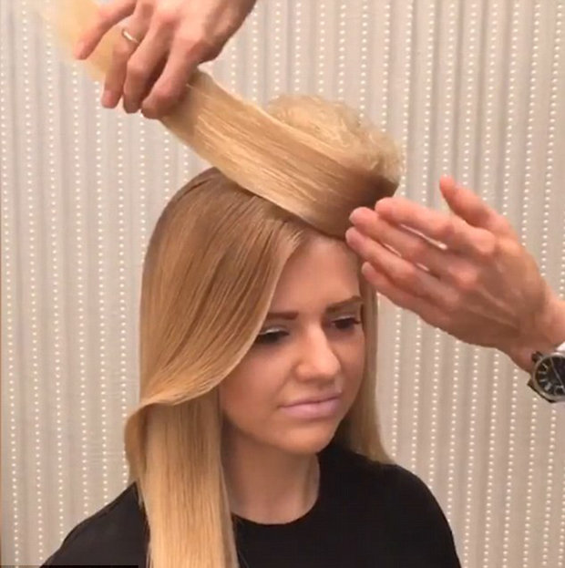 How To Turn Your Hair Into A HAT Hair Stylist Unveils