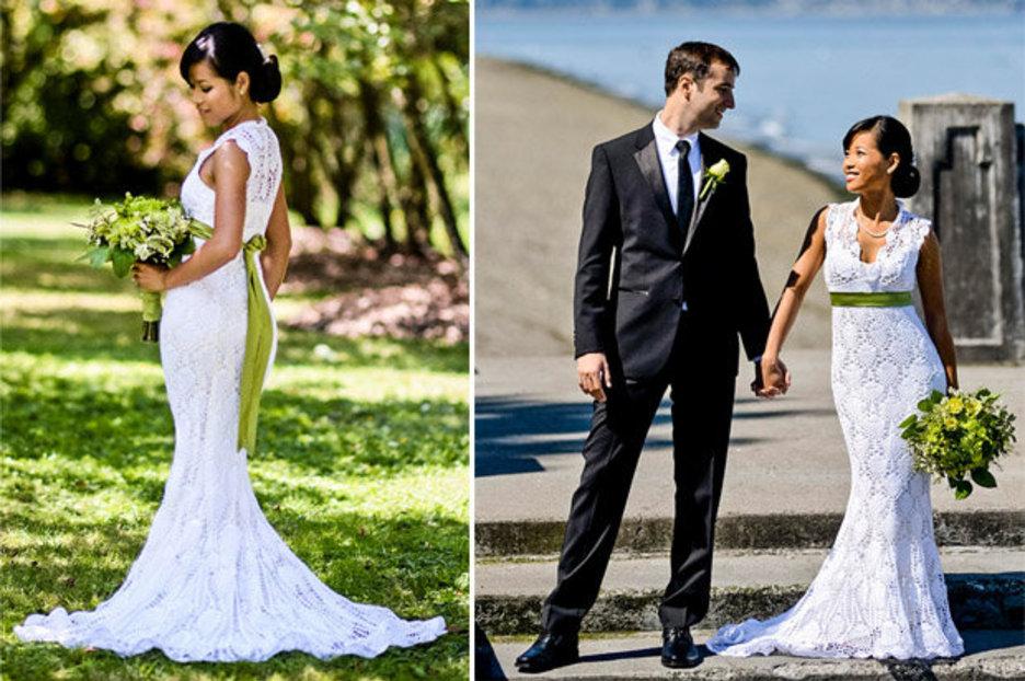 Cheap Wedding Dress: Thrifty Bride Made Her Own Budget