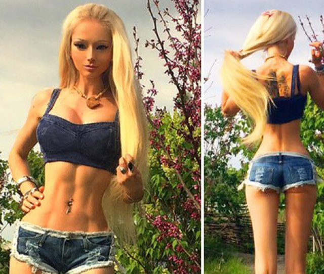 You Need A Bigger Bum Fans Slam Human Barbies Insane Proportions In Sexy Shoot