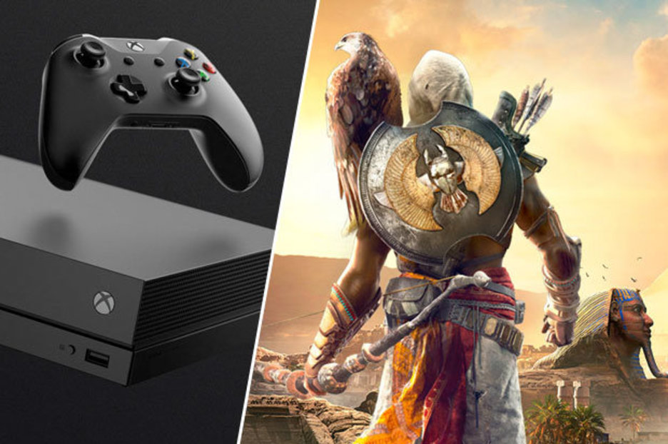 4K Xbox One X Assassins Creed Origins Gameplay Isnt The