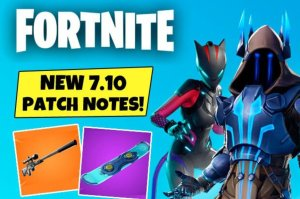 fortnite update 7 10 early patch notes suppressed sniper rifle driftboard leaked skins - fortnite patch 622