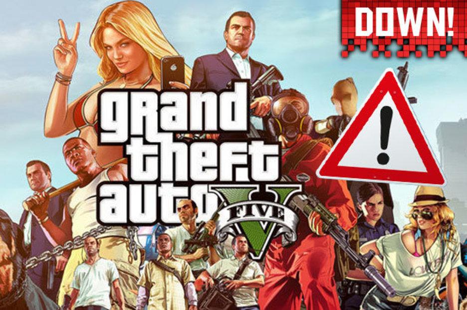 GTA 5 Online Status DOWN Rockstar Game Services