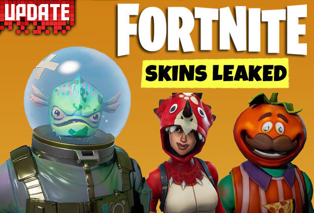 Fortnite Skins LEAKED: Update 3.5 patch uncovers Battle Royale cosmetics from Epic Games