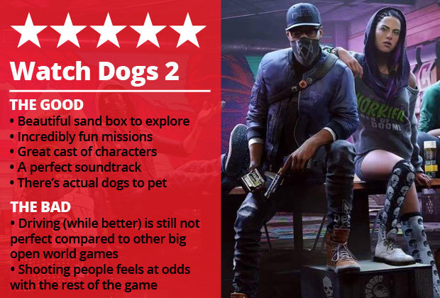 Watch Dogs 2 Review Ubisofts Best Game In Years Is A Match For GTA 5 Daily Star