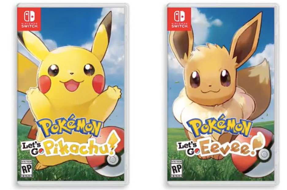 Pokemon Lets Go Pikachu And Eevee Nintendo Switch 2018
