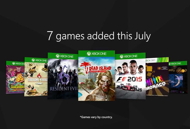 Xbox Game Pass List July Adds SEVEN New Xbox One And