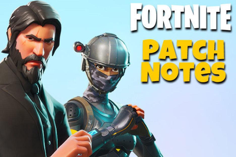 Fortnite UPDATE Patch Notes V31 REVEALED As Battle