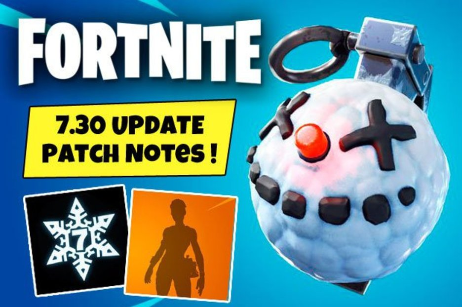 Fortnite Update 730 Early Patch Notes Chiller Grenade