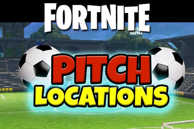 Fortnite Score a goal on different pitches: Week 7 Challenges SOLVED