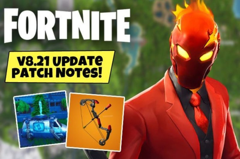 patch notes for fortnite new update