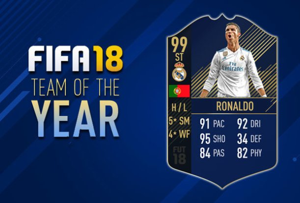 FIFA 18 TOTY Release Date and Predictions for Ultimate Team of the Year FUT players