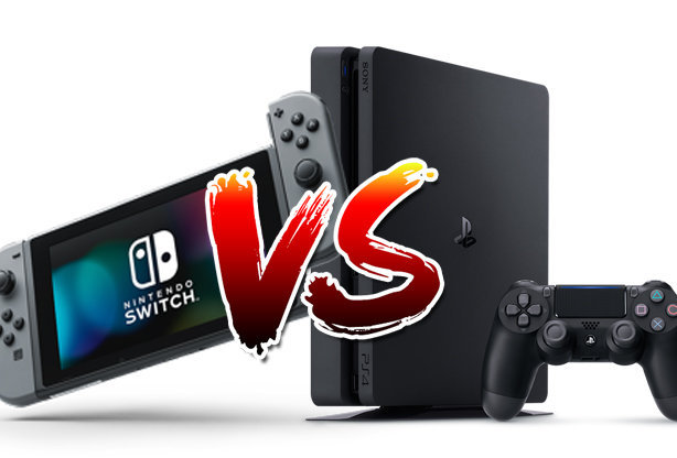 Nintendo Switch Vs PS4 UPDATE Sony Besting Nintendo In