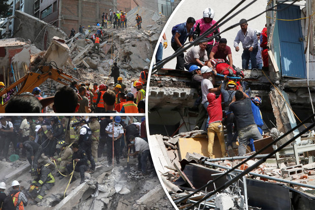 Mexico earthquake rocks capital city